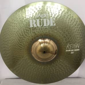 """Paiste 22"""" RUDE """"The Reign"""" Dave Lombardo Signature Power Ride Cymbal"""