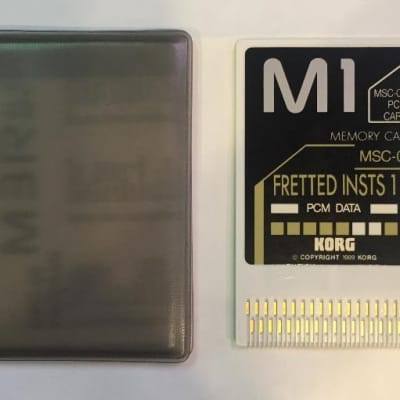 Korg MSC-06 M1 Fretted Instruments Memory Card