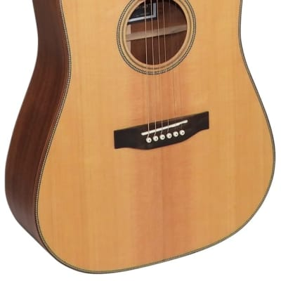 Freshman FALTDSPRD Solid Spruce Top Dreadnought Acoustic Guitar for sale
