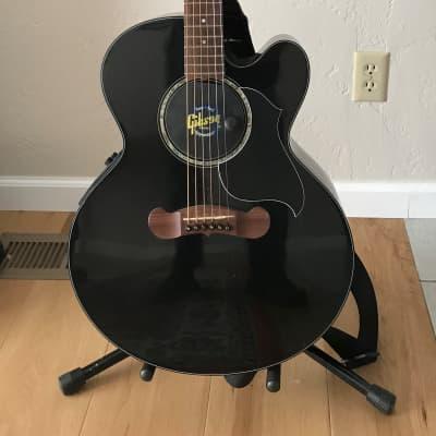 Gibson J-180EC Black 2002 for sale