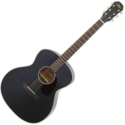Aria 101-MTBK OM Orchestral Model Spruce Top Mahogany Neck Rosewood Fingerboard Acoustic Guitar for sale