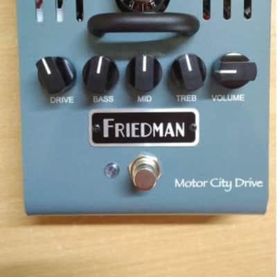 Friedman Motor City Drive 12AX7 Tube Overdrive w/ Original box & paperwork