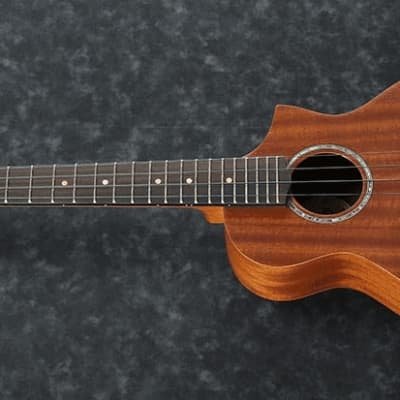 Ibanez UEWT5E Tenor Acoustic-Electric Ukulele Natural for sale