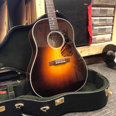 Fairbanks F-45  Slope Shouldered J-45 Tribute Dreadnought w/ Hard Case 2020 Vintage Gibson Burst for sale