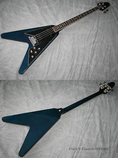 1982 gibson flying v bass gary 39 s classic guitars llc reverb. Black Bedroom Furniture Sets. Home Design Ideas
