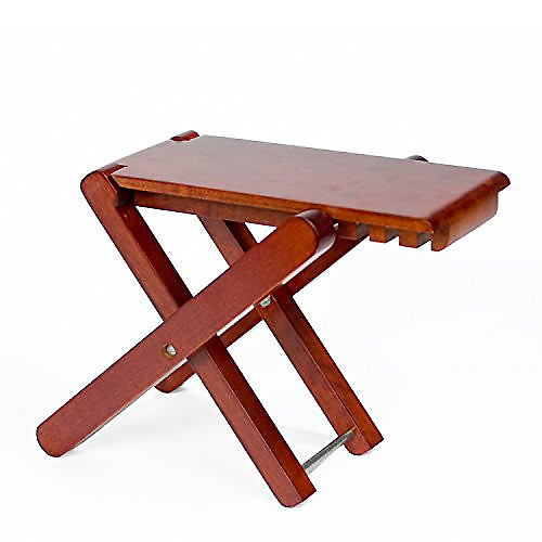 Groovy Cordoba Folding Wood Folding Footstool Rosewood Guitar Stool Squirreltailoven Fun Painted Chair Ideas Images Squirreltailovenorg