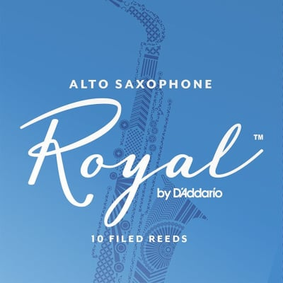 Royal Alto Saxophone Reeds Strength 3, Box of 10