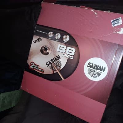 Sabian B8 Pro Performance Set 3-Piece Cymbal Pack
