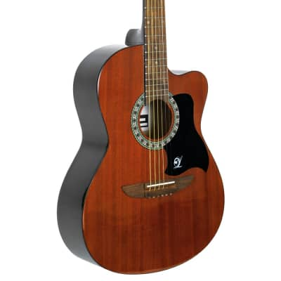 Lindo Apprentice Series Mahogany 931C Acoustic Guitar with Free Carry Case for sale