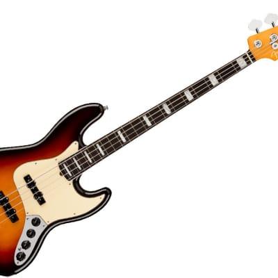 Fender American Ultra Jazz Bass Guitar - Rosewood/Ultraburst - 0199020712