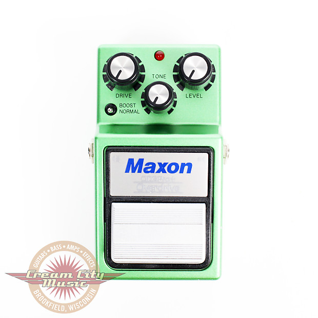 Used Maxon OD9-Pro+ Overdrive Pedal | Cream City Music