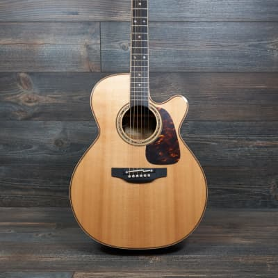 Takamine P7NC Acoustic with Cool Tube Electronics Natural Gloss with Case for sale