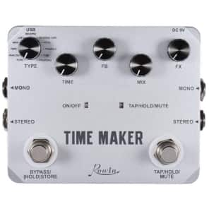 ROWIN LTD-02 Time Maker Delay Guitar Effect Pedal 11 Types of Delay effects