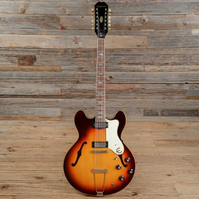 Epiphone Riviera 12-String Sunburst 1967 (s280) for sale