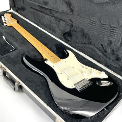 1989 Fender American Standard Deluxe Stratocaster - Limited Edition - Vintage - Black for sale