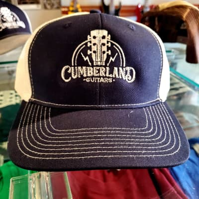Cumberland Guitars Trucker Hat - Navy Blue / White
