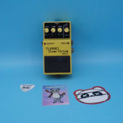 Boss OD-2 Turbo OverDrive | Rare (1988) Made in Japan | Fast Shipping!