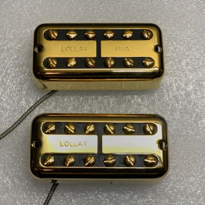 Lollar Pickups Lollartron Traditional Mount Vintage Gold Filter'Tron Filtertron