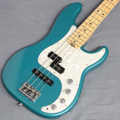 Fender USA American Elite Precision Bass Maple Ocean Tarquoise Metallic - Shipping Included* for sale
