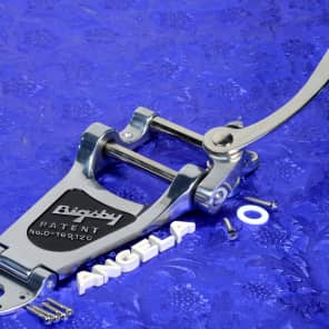 Genuine Bigsby B7 Chrome Vibrato Tailpiece Kit For Gibson Arch Top Guitars0868013005