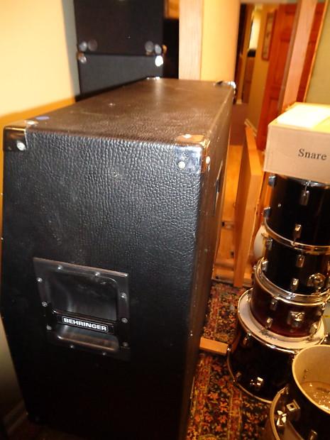 used behringer ultrastack bg412h 4x12 guitar speaker reverb. Black Bedroom Furniture Sets. Home Design Ideas