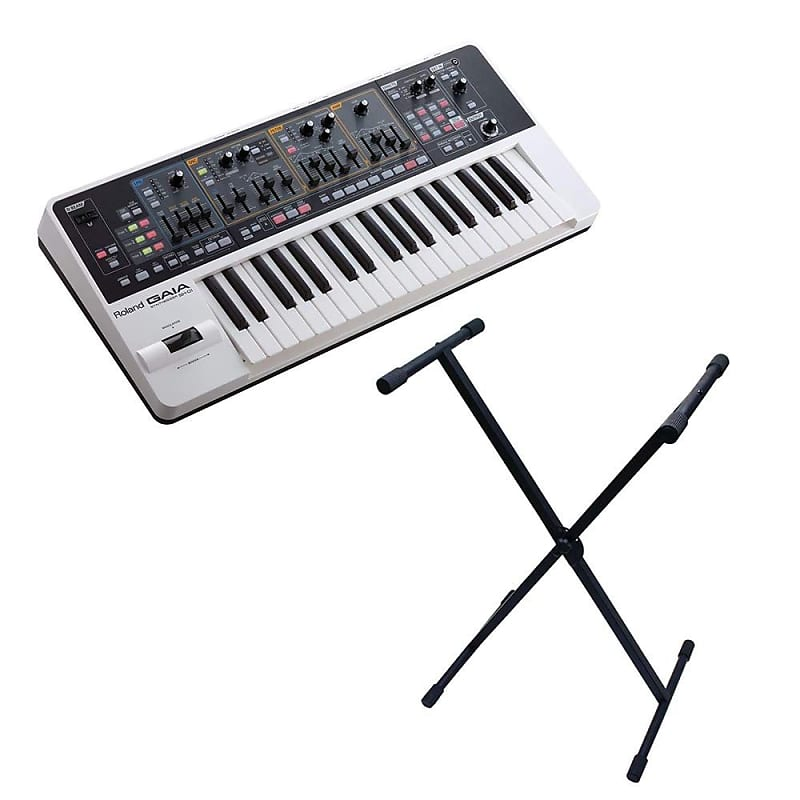 roland gaia sh 01 keyboard with gator cases rok it x style reverb. Black Bedroom Furniture Sets. Home Design Ideas