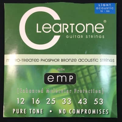 Cleartone  12-53 Acoustic Strings