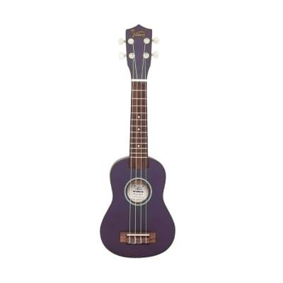 Glarry UK101 21inch Soprano Rosewood Fingerboard Basswood Ukulele Purple for sale