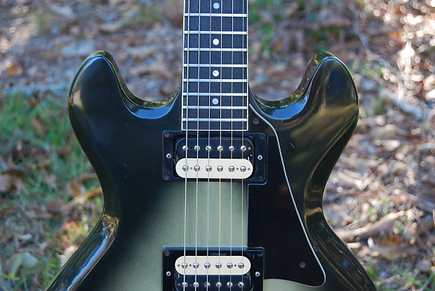 gibson es 335 s deluxe pro solid body 1980 silverburst reverb. Black Bedroom Furniture Sets. Home Design Ideas
