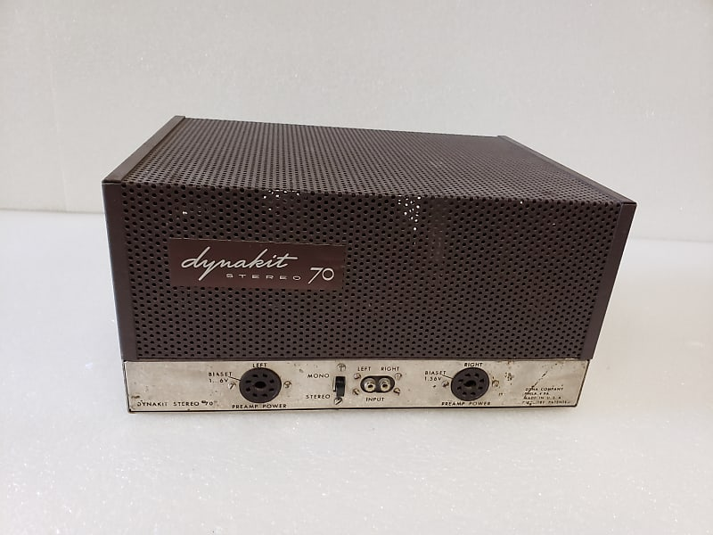 Fully Restored Dynaco ST-70 Stereo Power Amplifier - Famous Dynaco Sound -  Vintage Correct Restoration - Great Cosmetics!