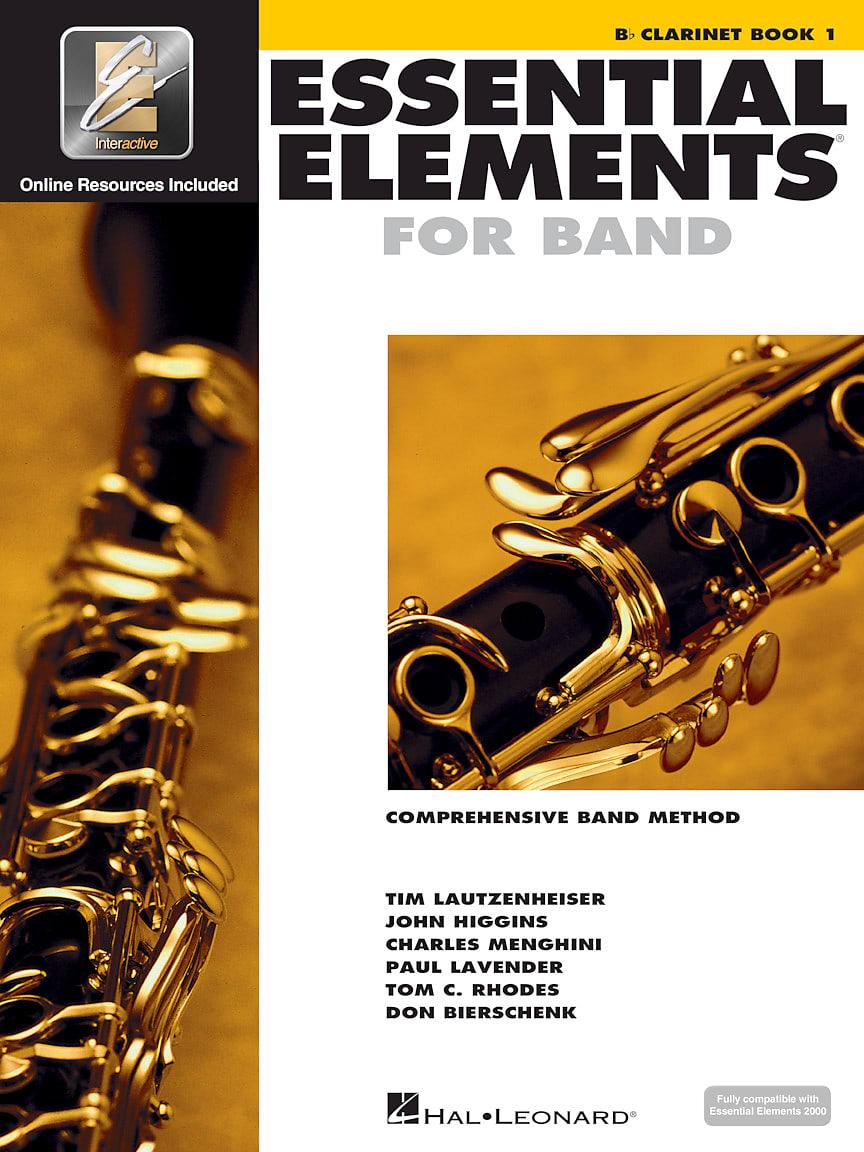 Hal Leonard Essential Elements Clarinet Package 3 Pk