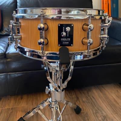 Sonor Prolite 12x5 Natural Maple Accent Piccolo Snare Drum