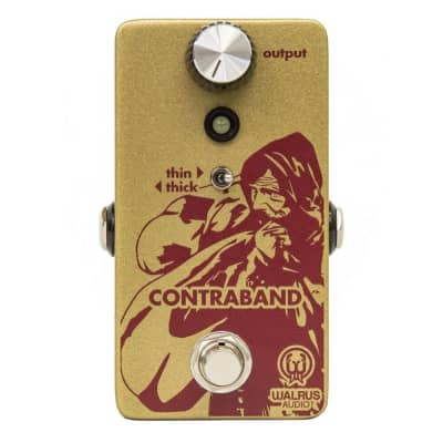 Walrus Audio Contraband Fuzz Guitar Effects Pedal for sale