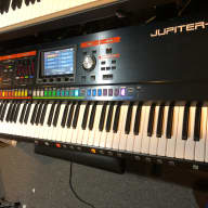 Roland Jupiter 80 Ver2 76-Key Synthesizer with Fusion Bag