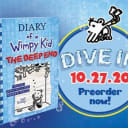 Pre-Order AUTOGRAPHED Diary Of a Wimpy Kid #15: The Deep End New Hardcover Book Jeff Kinney