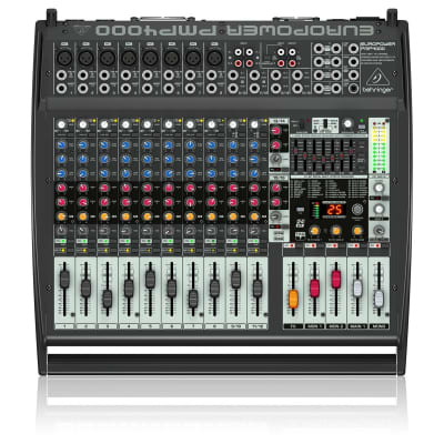 Behringer Europower PMP4000 1600-Watt 16-Channel Powered Mixer