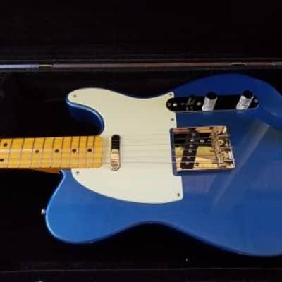 custom tele lake placid blue w/nitro maple neck