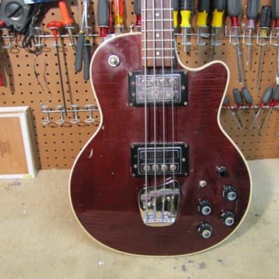 Guild M85 Bass 1973 Mahogany