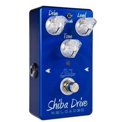 Suhr Shiba Drive Reloaded Overdrive Guitar Effects Pedal in Blue