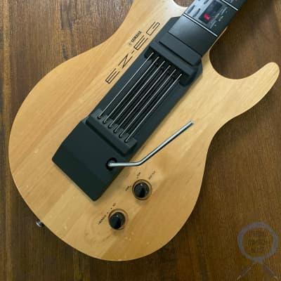 Yamaha EZ-EG, MIDI Digital Guitar, Natural, Made In Japan