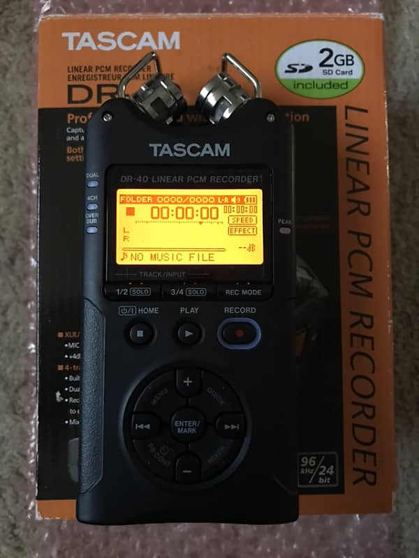 Tascam DR-40 Field Recorder | TEXSYNTH