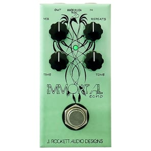J. Rockett Audio Designs Jet Series Immortal Echo Guitar Effects Pedal, Limited Run Anniversary Collection for sale