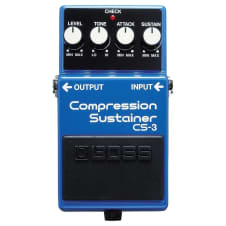 Boss CS-3 Compression / Sustainer Pedal
