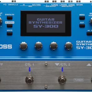 Boss SY-300 Guitar Synthesizer FREE U.S. EXPRESS SHIPPING