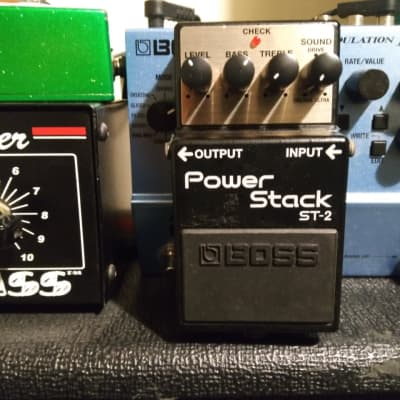 Boss Power Stack. Blues to Metal O.D.
