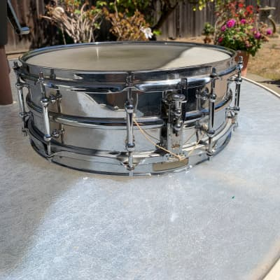 "Ludwig 5""x14"" super Ludwig  1920 Chrome Over Brass"