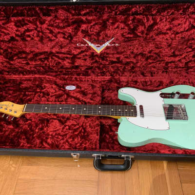 Fender Telecaster 60's Aged Surf Green Custom Shop