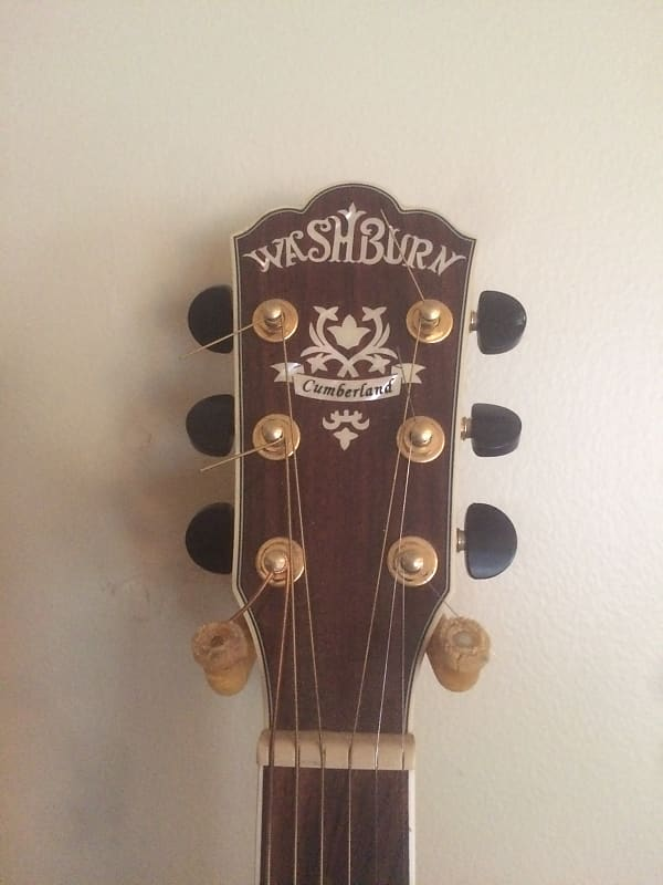 Washburn J28SCEDL Cumberland Jumbo Acoustic-Electric ...