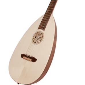 Roosebeck GLSVG 6-Steel String Variegated Lute-Guitar