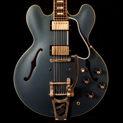 Gibson ES-335 Anchor Stud Limited Run Antique Pelham Blue for sale